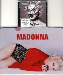 REBEL HEART - KOREA (DELUXE EDITION) CD ALBUM + Promo Folders